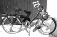 velo solex right side view